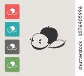 apple vector icon. symbol for...