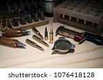 Reloading rifle ammo on...