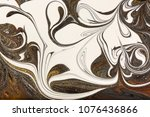 marble abstract acrylic...   Shutterstock . vector #1076436866