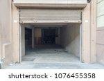 wide view of a car shelter seen ... | Shutterstock . vector #1076455358