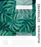 summer party music poster... | Shutterstock .eps vector #1076466482