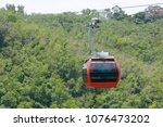 table mountain cable car  ... | Shutterstock . vector #1076473202