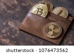 popular cryptocurrency in... | Shutterstock . vector #1076473562