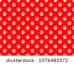 red background design | Shutterstock . vector #1076483372