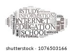 internet education concept....   Shutterstock . vector #1076503166