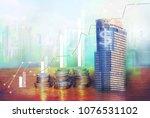 financial  banking  economic... | Shutterstock . vector #1076531102