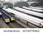 london paddington station ... | Shutterstock . vector #1076570462