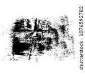 black ink splashes grunge...   Shutterstock .eps vector #1076592782