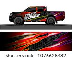 pickup truck graphic vector....