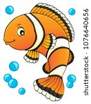 clownfish topic image 1   eps10 ... | Shutterstock .eps vector #1076640656