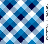 argyle pattern with vertical... | Shutterstock .eps vector #1076656052