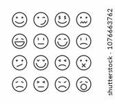 Emoticon Icons  Set Of Smiley...