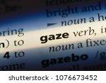 Small photo of gaze gaze concept.