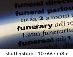 funerary funerary concept. | Shutterstock . vector #1076675585