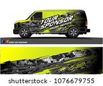 car graphic vector. abstract... | Shutterstock .eps vector #1076679755