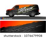 car graphic vector. abstract... | Shutterstock .eps vector #1076679908
