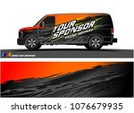 car graphic vector. abstract... | Shutterstock .eps vector #1076679935