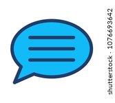 bubble comment message