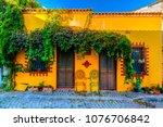bozcaada streets view. bozcaada ... | Shutterstock . vector #1076706842