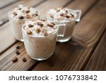 rice pudding with coconut ... | Shutterstock . vector #1076733842