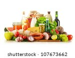 composition with variety of... | Shutterstock . vector #107673662
