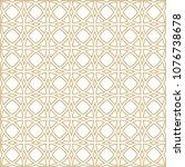 ornamental seamless pattern.... | Shutterstock . vector #1076738678