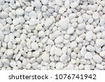 White Pebbles Stone Texture...