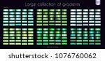 green emerald turquoise... | Shutterstock .eps vector #1076760062