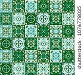 gorgeous seamless pattern... | Shutterstock .eps vector #1076778035