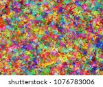 abstract colorful modern... | Shutterstock . vector #1076783006