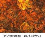 cubism painted texture... | Shutterstock . vector #1076789936