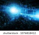 best internet concept of global ...   Shutterstock . vector #1076818412
