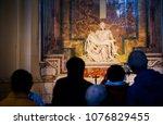 vatican city  vatican   april ... | Shutterstock . vector #1076829455
