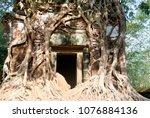 most south sanctuary prasat...   Shutterstock . vector #1076884136