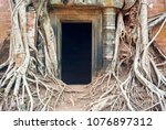 most south sanctuary prasat...   Shutterstock . vector #1076897312