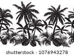 beautiful  seamless line... | Shutterstock .eps vector #1076943278