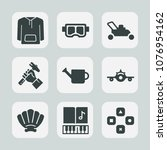 premium set of fill icons. such ...   Shutterstock .eps vector #1076954162