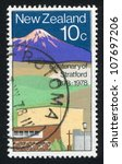 new zealand   circa 1978  stamp ... | Shutterstock . vector #107697206