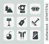 premium set of fill icons. such ...   Shutterstock .eps vector #1076975762