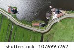 aerial top down picture of... | Shutterstock . vector #1076995262