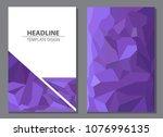 vector design for brochure... | Shutterstock .eps vector #1076996135