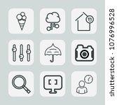 premium set of outline icons....   Shutterstock .eps vector #1076996528