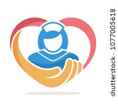 icon illustration with the... | Shutterstock .eps vector #1077005618