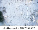 texture background old cracked... | Shutterstock . vector #1077052532