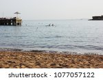 sea and beach | Shutterstock . vector #1077057122