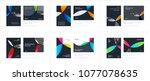 material design template with... | Shutterstock .eps vector #1077078635