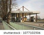 sturovo. slovakia. 26 march... | Shutterstock . vector #1077102506