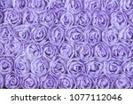 Stock photo background of roses lace 1077112046