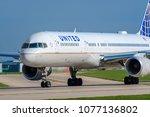 manchester  united kingdom  ... | Shutterstock . vector #1077136802