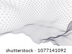 architectural drawing 3d  | Shutterstock .eps vector #1077141092